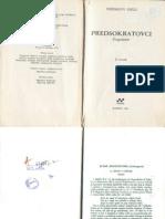 Herman Dils - fragmenti predsokratovaca II