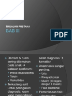 Demam Dengan Ruam - Diagnosa Diferensial