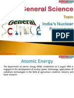 40(A) India's Nuclear Programme