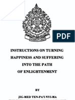 Tulku Thondup Instructions on Turning Happiness and Suffering Into the Path