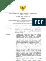 Kepmenakertrans No 609 Th 2012 Ttg Pedoman Penyelesaian Kasus Kecelakaan Kerja Dan Penyakit Akibat Kerja