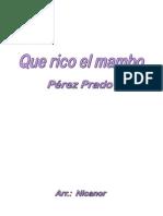 Que Rico El Mambo - Banda