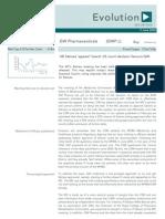 GW Pharmaceuticals (GWP) Broker Note
