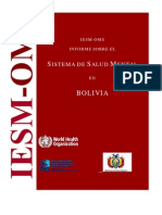 Bolivia Who Aims Report