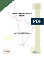 Bolivia Mental Health