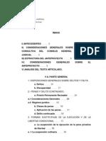Informe sobre el Código Penal del Poder Judicial