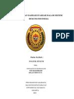 Tugas Makalah Politik Hukum - Noviastuti Handayani 2011010462105