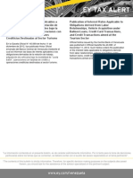 Tax Alert 2012-Tasas de Interés Aplicables a Obligaciones Derivadas de la Relación de Trabajo, Adquisición de Vehículos baj