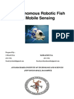 An Autonomous Robotic Fish for Mobile Sensing (1)