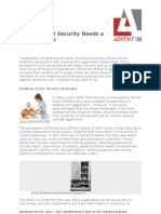 NHS Physical Security Needs a Health Check