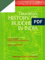 Taranatha s History of Buddhism in India