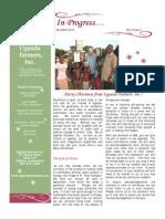 In Progress Newsletter December