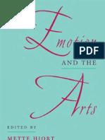 V. v. a. a. - Emotion and the Arts