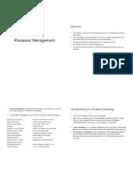 Process Management Lecture