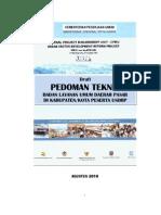 USRDP-PU_Pedoman Teknis BLUD Pasar
