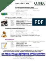 CalendarioCENASE ene - abr 2013p2