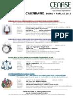 CalendarioCENASE ene - abr 2013p1