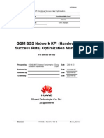 09 GSM BSS Network KPI (Handover Success Rate) Optimization Manual