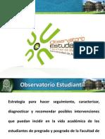 Observatorio Estudiantil Facultad de Medicina Udea 2012