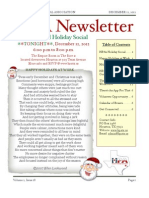 HPA Newsletter Vol 2, Issue 18-12-12-12