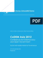 CeDEM Asia 2012 Proceedings