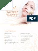 Resurface and Peel Treatment Training