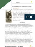 10 Utilización de especies Arboreas para cerco vivo en regiones tropicales
