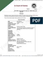 NY 2012-07-12 - Laity v State of NY - Decision