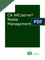CA ARCserve® Media Management