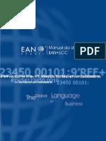 EAN UCC Manual Usuário