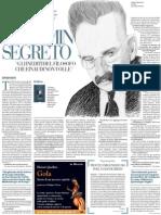 Intervista a Giorgio Agamben Sul Libro Di Walter Benjamin Da Lui Curato - La Repubblica 12.12.2012