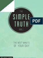 Simple Truth Bible Sampler