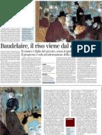 Roberto Calasso Su Baudelaire - Corriere Della Sera 12.12.2012