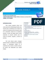 Revista Arista - Metodo Kodaly