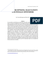 Herrington & Nee - Self-Perceptions, Masculinity and Female Offenders