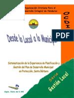 Desde Lo Local a Lo Municipal - 2002