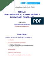 Aeroequations