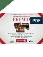 SORTEO de Madrid Xanadú por Navidad - Tus compras tienen PREMIO