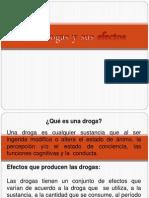 Ppt. Efectos de La Droga