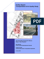 Dudley Square Transportation & Air Quality Study