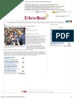 06-12-12 El Sol de México - Moreno Valle ve ahorro por hasta 70 mdp con fusión de dependencias