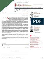 09-12-12 La Quinta Columna - Asiste RMV al cambio de poder del nuevo gobernador de Chiapas