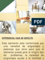 sistema diferencial de engranajes