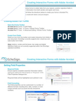 Electronically Signing Adobe PDF forms With EchoSign