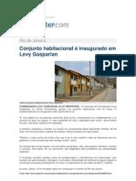 14.09 O Repórter - Conjunto habitacional é inaugurado em Levy Gasparian