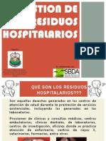Presentación Residuos Sólidos Hospitalarios