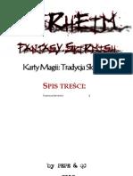 WarheimFS Karty Magii 014 Tradycja Skrytosci