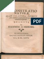 Nicolas Flamel - Demonstratio naturæ quam errantibus chymicis facit dum de sophista et stolido spiratore carbonario conqueritur