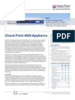 4800 Appliance Datasheet
