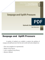 CE404 Seepage Theories
